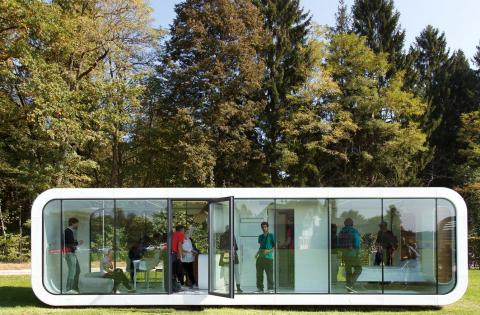 Casa Prefabricada autónoma.